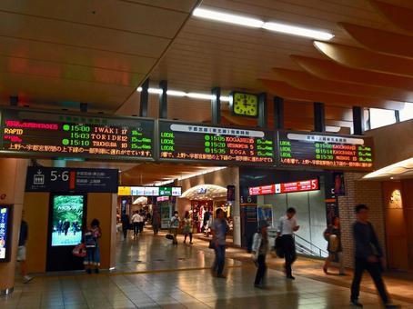 Ueno station premises # 1