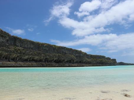 뉴 칼레도니아 여행 우베 아 섬 레킨 절벽 천국에 가장 가까운 섬