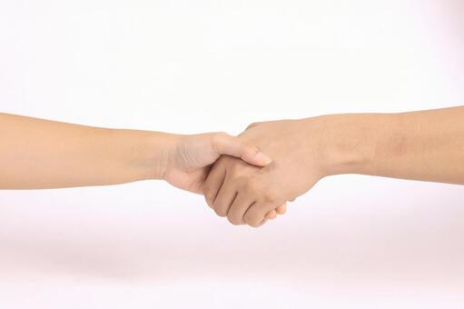 手部件(握手)7