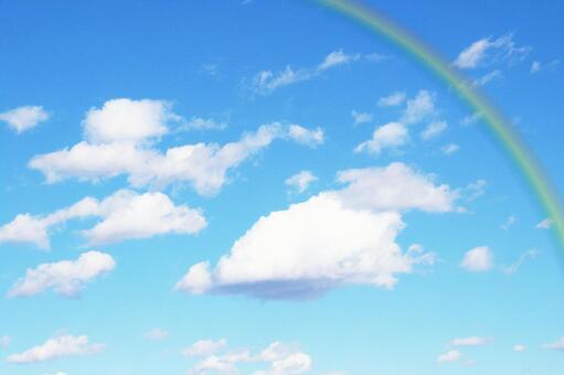 푸른 하늘과 무지개 2