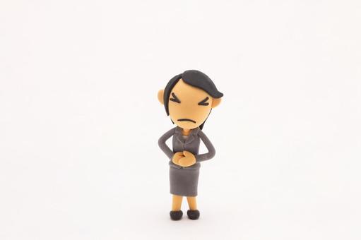 Bad mood female 9