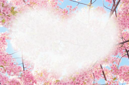 Cherry Message Card Heart