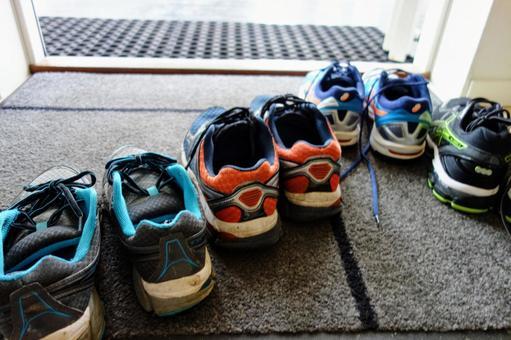 Front door shoes