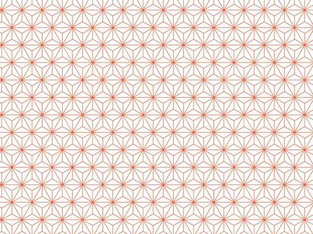Hemp leaf pattern background material