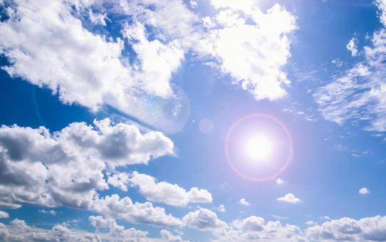 Sky blue sky sky and clouds blue sky and clouds