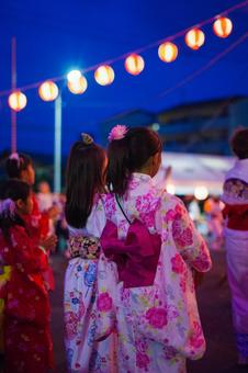 Summer festival Bon Odori 4