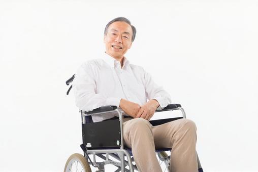Men on a wheelchair 3