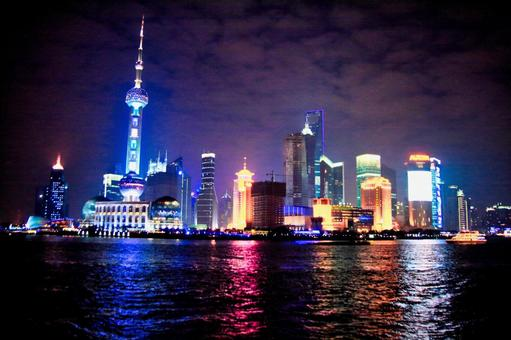 Shanghai night scene image