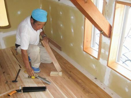 Carpenter remodeling