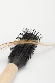 Hair and brush 4