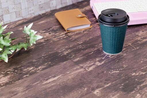 Work disc paper cup