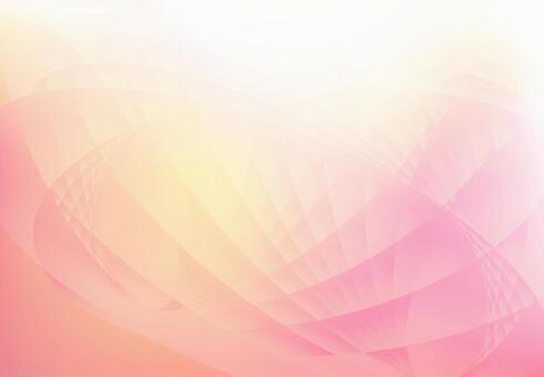 Pink wave gradient background material texture