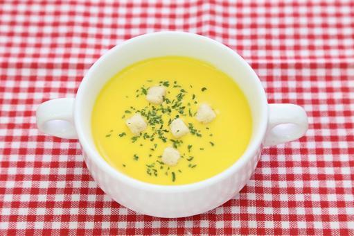 Corn soup 4