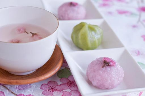 Spring Japanese sweets