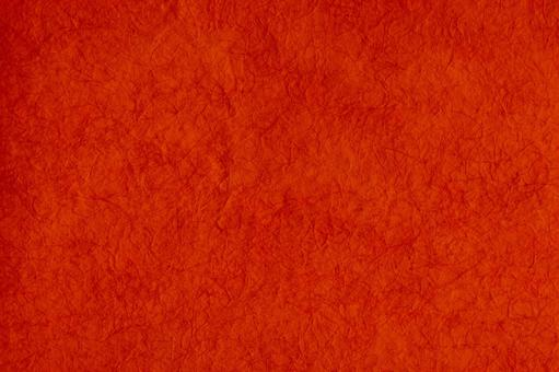 Red Japanese paper | Natural Japanese paper material | Four seasons material