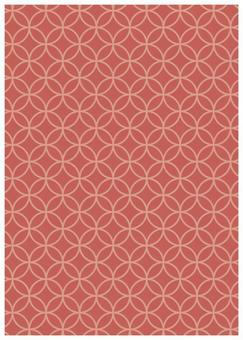 Japanese Pattern Texture Star Cloisonne Pink
