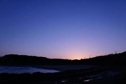 새벽 풍경