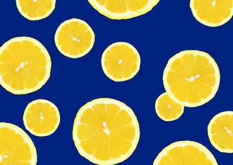 레몬 슬라이스 A4 사이즈