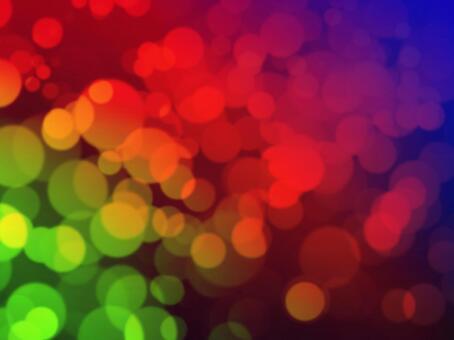 Background material · Design · Green, red, violet light