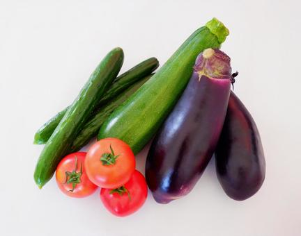 Vegetable material Summer vegetables