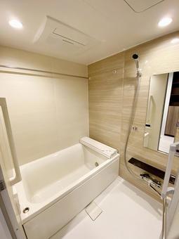 Bathroom in a new condominium