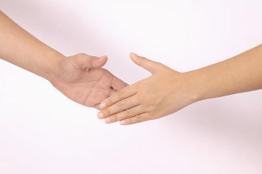 手部件(握手)8