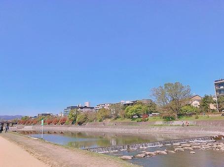 鴨川(京都府河原町)
