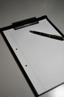 Binder and pen 3