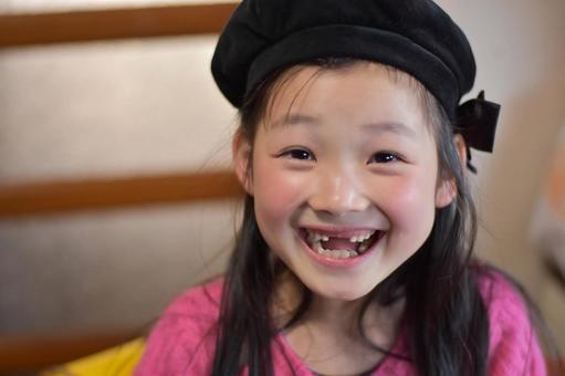 微笑的女孩