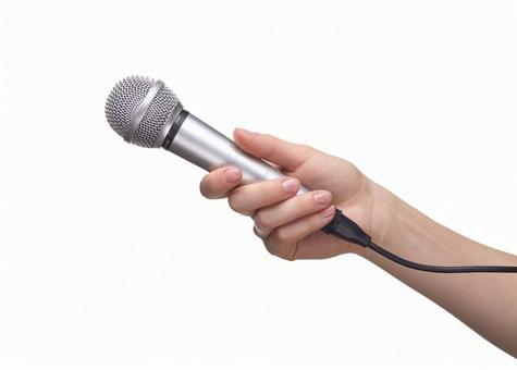 Hand pose microphone 11