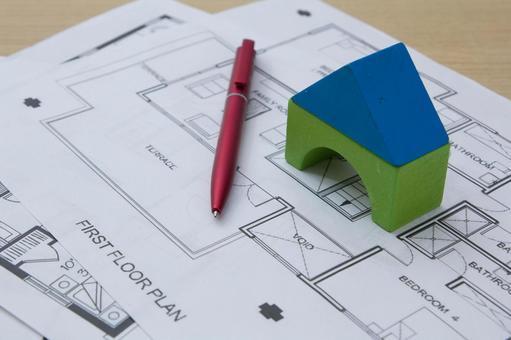 집의 모형 그림자 85