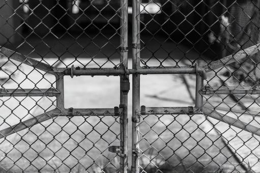 Cage (wire mesh / key) monochrome