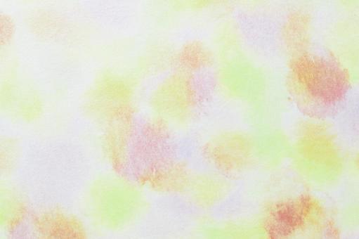 Watercolor ・ green ・ background ・ blur