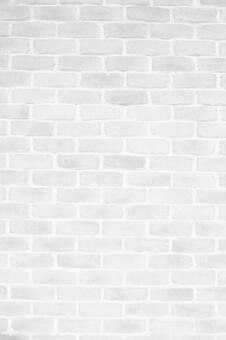 White brick texture background material-vertical position