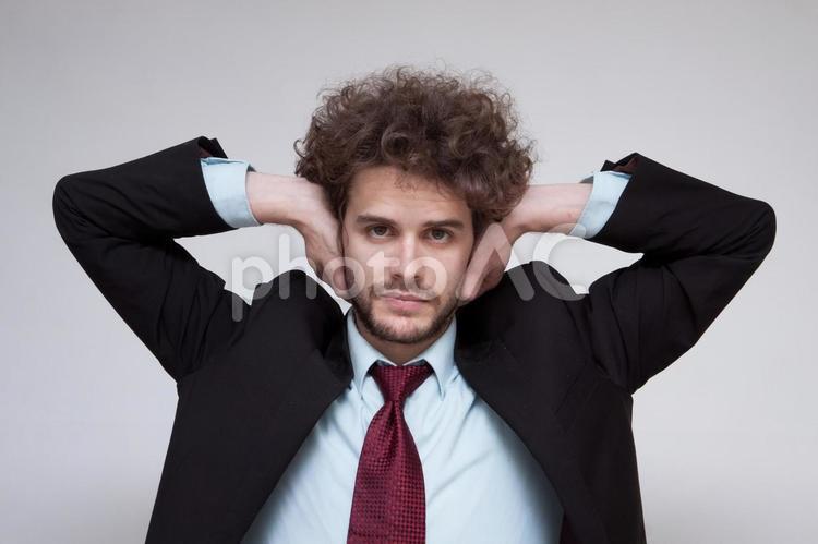ハンサムな外国人ビジネスマン271の写真