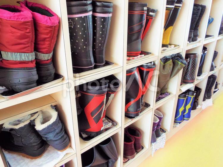 冬のイメージ・冬靴の写真