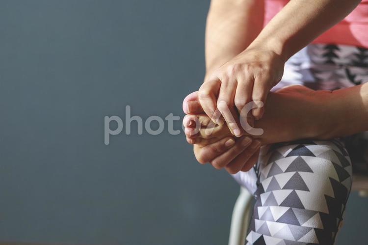 ボディーパーツ 足指の写真