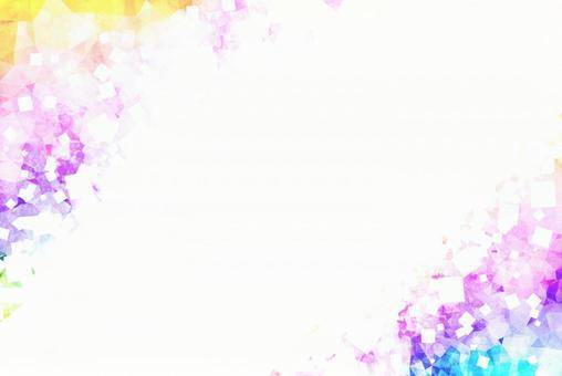 水彩風格紫色閃光光框聖誕新年新年背景紋理