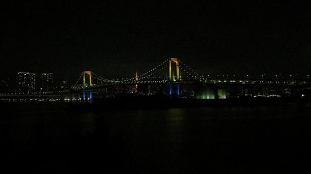 Rainbow Bridge Light Up