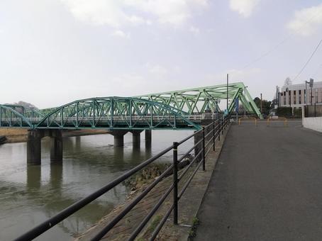 후쿠시마시 弁天橋 松齢橋