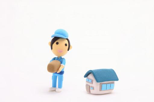 Clay doll delivery member 3