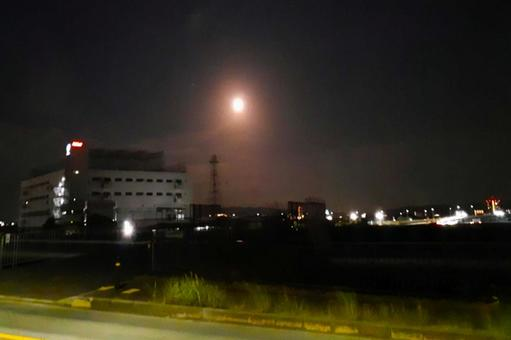 Night cityscape landscape desktop image