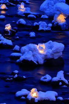 Otaru snow light path (Asuri River venue) 7