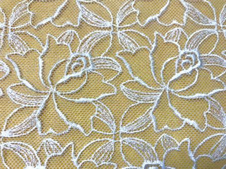 Lace background material 1 beige