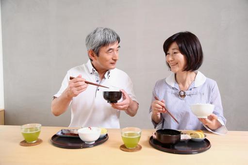 老年夫婦4吃