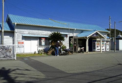 Countryside station building # 1