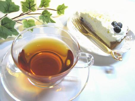 Tea time blueberry rare cheese 4