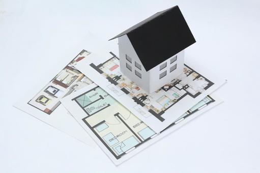 집의 모형 그림자 24