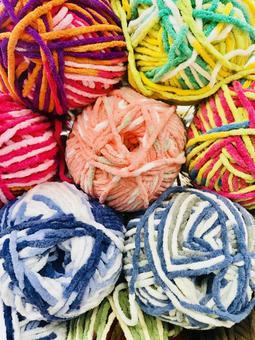 다채로운 털실