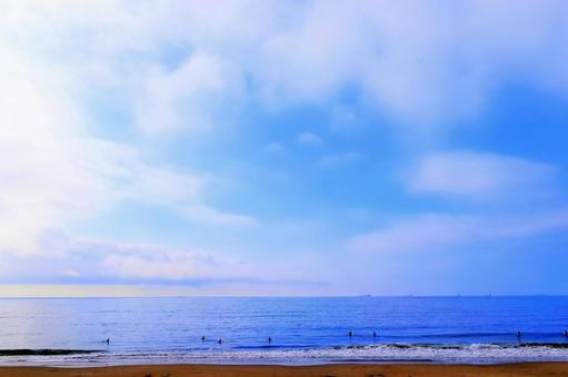 하늘과 바다와 흰 구름